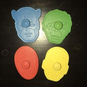 Marvel avengers cookie cutters